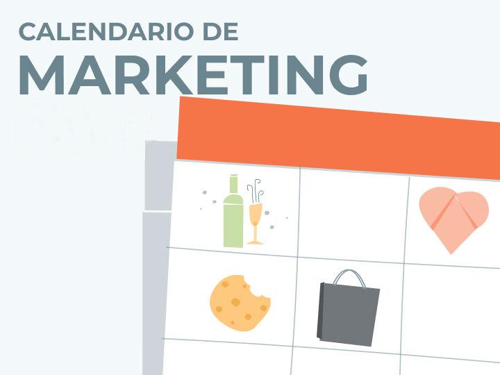 Calendário de Marketing