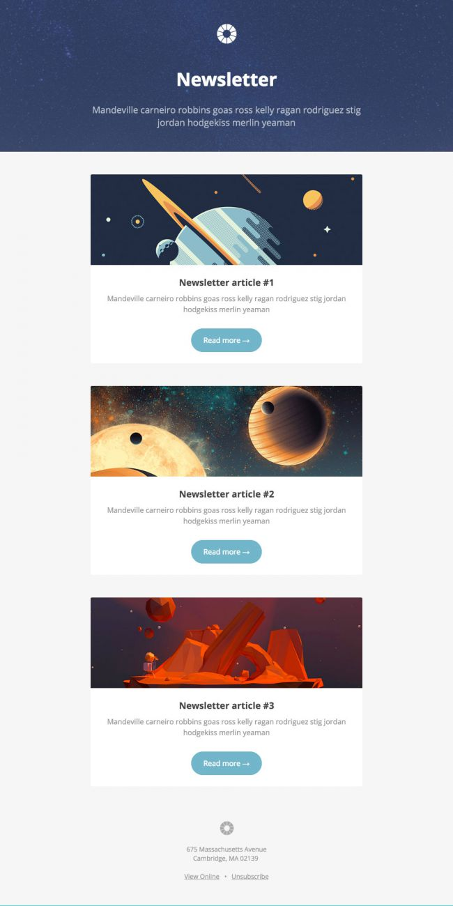 5 Best Designs for Email Marketing Templates - Growth Riot