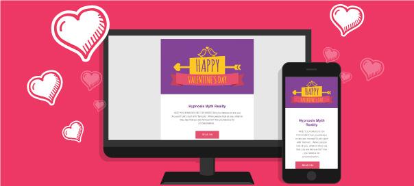 Templates de Email Marketing Grátis para o Dia dos Namorados