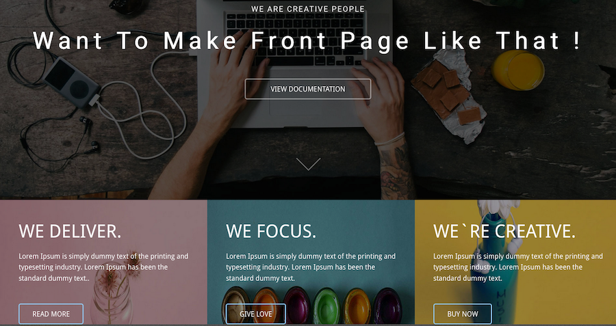 5 great examples of Landing Page design templates for your inspiration!