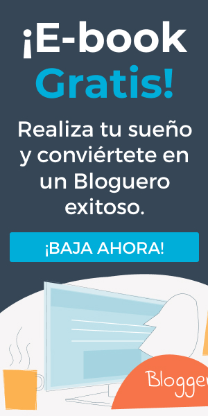 Banner Ebook Bloguero Exitoso