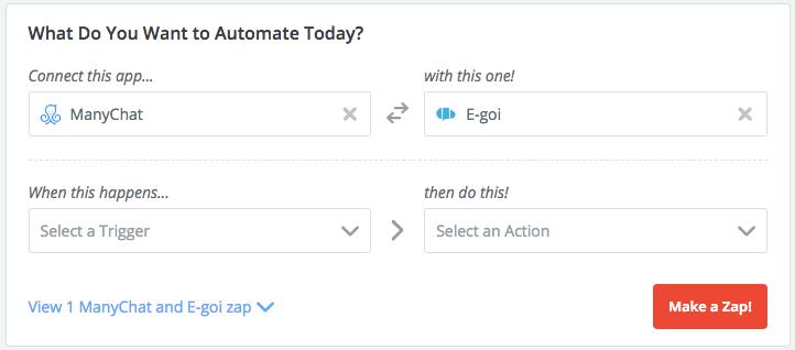 Chatbot para Facebook Messenger | E-goi