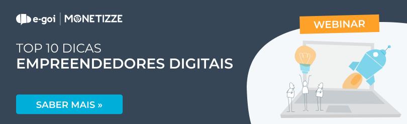 Webinar 10 Dicas para Empreendedores Digitais PT | E-goi